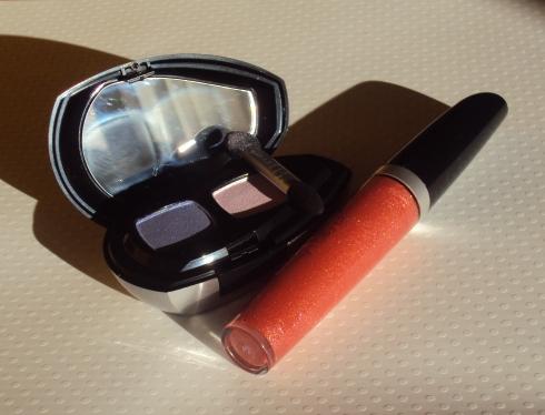 Duo de sombras Light Rose e Star Lip brilho labial Shiny B.