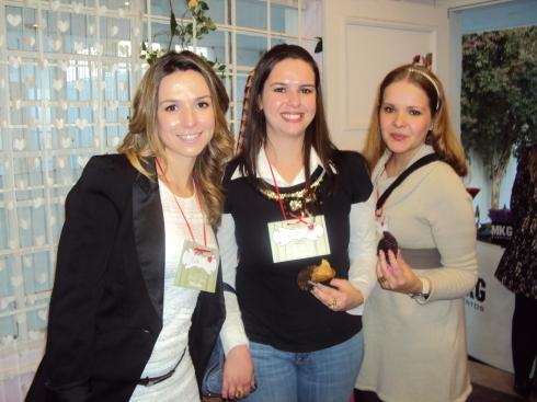 Bella, Sheilla e Helaine