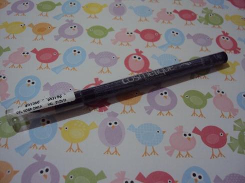 Lápis para sobrancelha Cosmétique Evolution - cor cinza