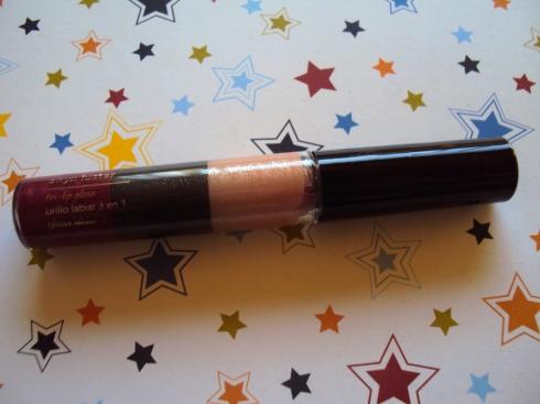 Avon Onyx Luster Tri-Lip Gloss Wine Luster