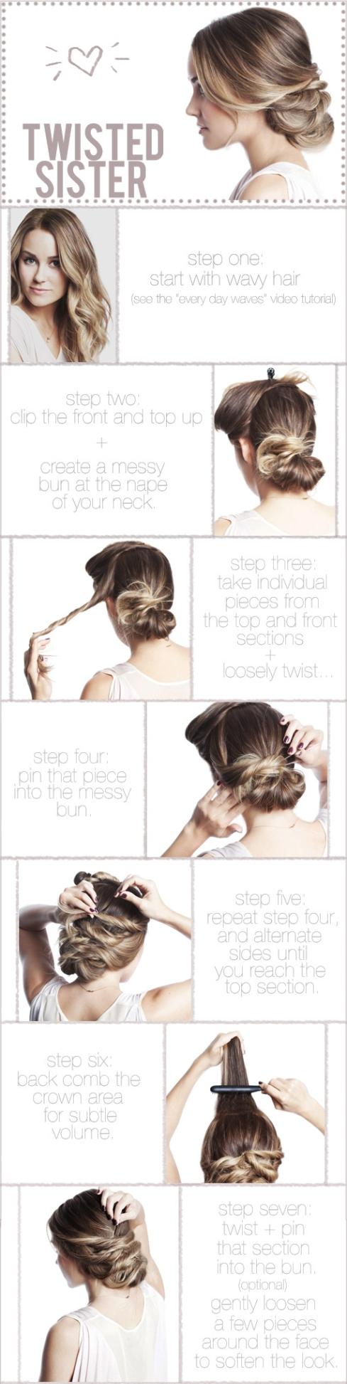 Tutorial de cabelo em foto