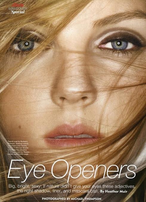 Eyes Openers - Allure Janeiro/2011