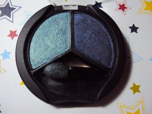 Duo Verde Metálico/Azul Petróleo