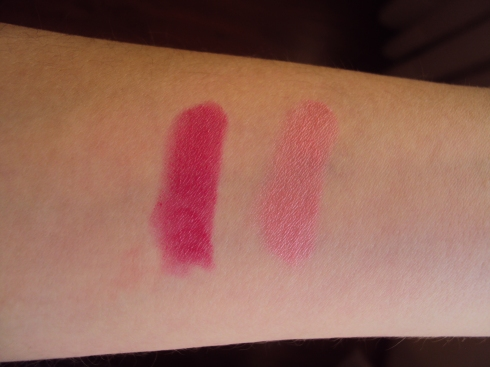 Swatch das cores: Sexy e Seduction