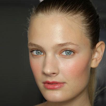 Maquiagem Floral - Laranja