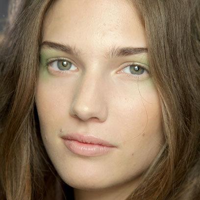 Maquiagem Floral - Mais Verde!