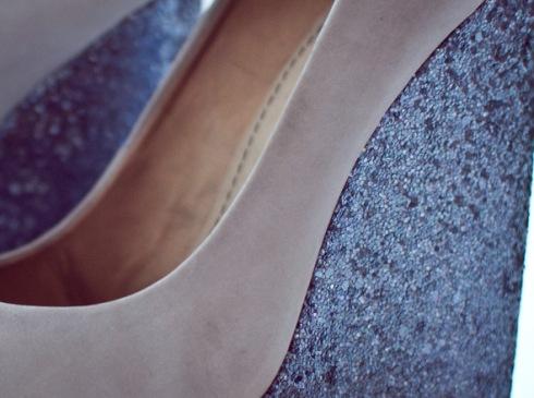 Sapato brilhoso